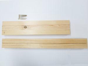 看板木枠用木材