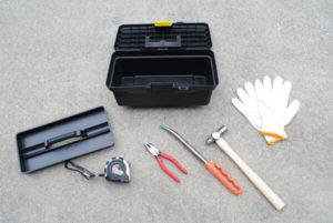 野立て看板の取り付け道具セット