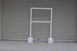 コンクリート立て台+脚付木枠セット