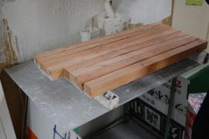 看板取り付けセット用の木枠
