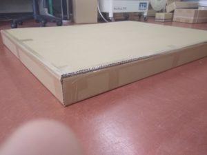 分譲看板木枠2台 梱包経過完了