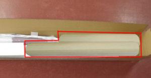 看板取付用品の梱包方法2